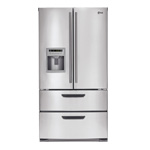 LG LMX25964SS stainless steel refrigerator