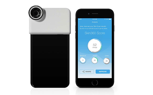 neutrogena skin 360 camera and app for skin analysis
