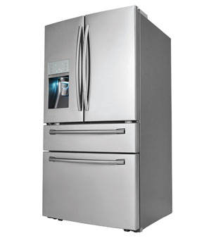 "Samsung RF31FMESBSR 36"" Fridge"