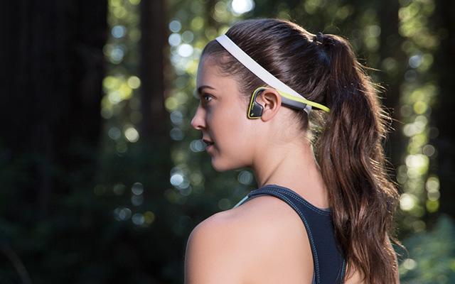AfterShokz Trekz Titanium Bone-Conducting Headphones
