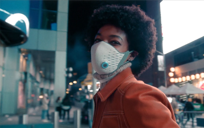 AirPop Active Halo Smart Mask