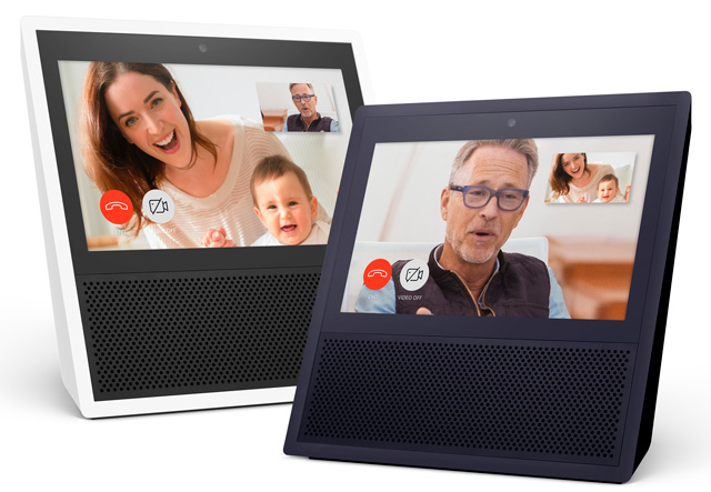 Amazon Echo Show can make video calls