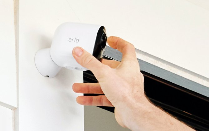 The easiest to set up DIY home security system: Arlo Ultra 2