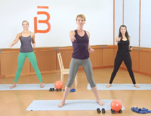Barre3 combines moves from ballet, yoga and Pilates to create a unique, low-impact routine