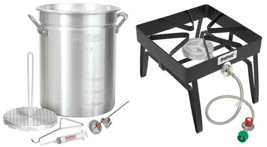 Bayou turkey fryer pot & patio stove