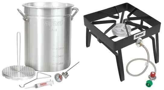 Bayou turkey fryer pot & patio stove