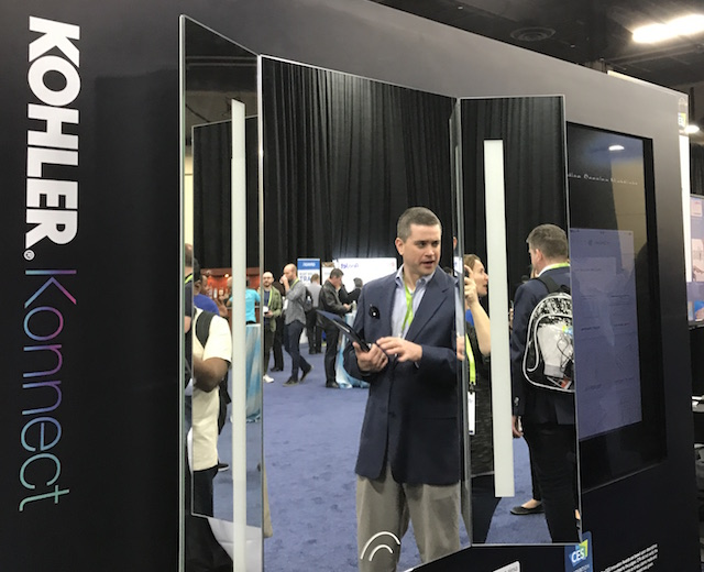 Kohler Konnect Voice Lighted Mirror
