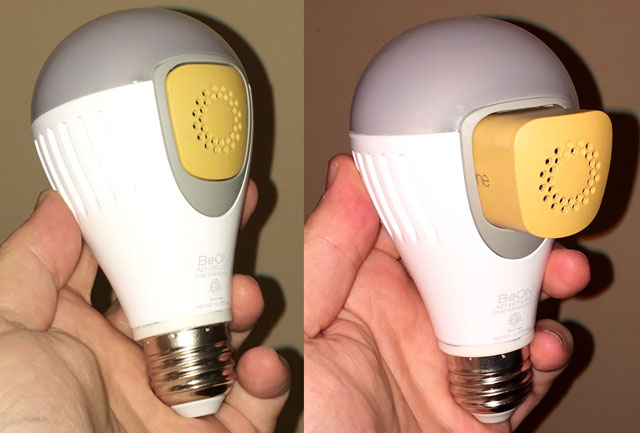 BeON's Home Protection System is a sophisticated early warning system for your home, disguised and doubling, as smart bulbs.