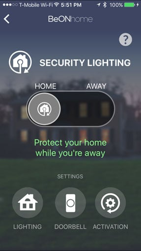 BeON Home Security Lighting