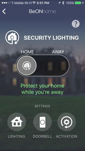 BeON Home Security Lighting