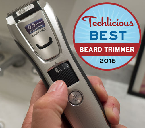 the best beard trimmer techlicious. Black Bedroom Furniture Sets. Home Design Ideas