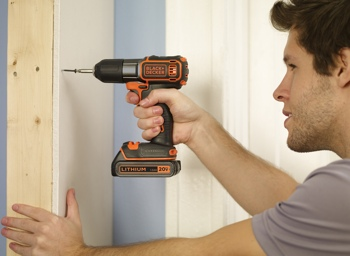 Black & Decker 20V MAX Lithium Cordless Drill with Autosense Technology