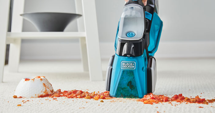 Black+Decker Spillbuster Hand Vac is an All-in-One Stain Stopper
