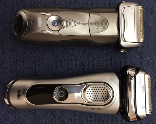 Braun Series 9 gen 2 vs. Series 7