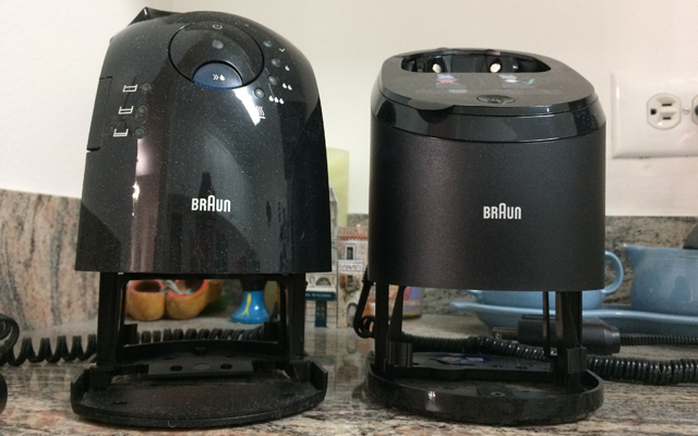 Braun Series 9 gen 2 vs Series 7Clean&Charge Stations