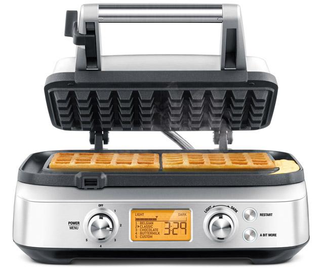 Breville The Smart 4-Slice Waffle Maker