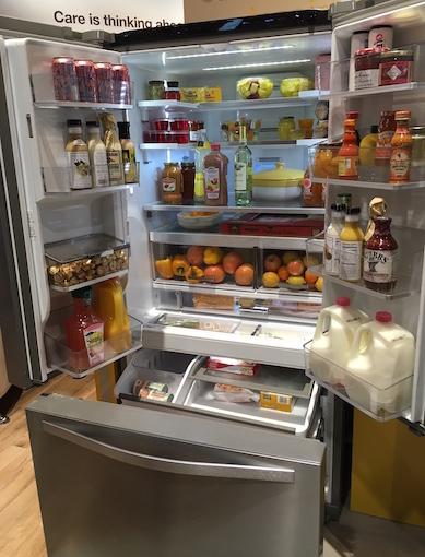 Smart French Door Bottom Mount Refrigerator