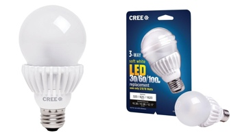Cree LED 3-way lightbulb