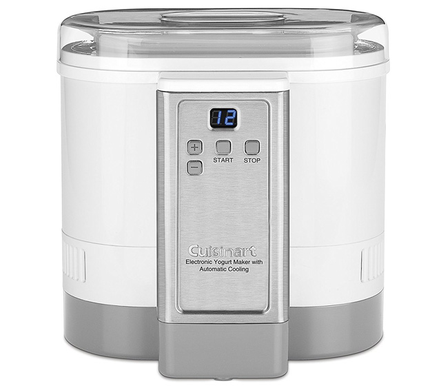 Cuisinart CMY-100 Electronic Yogurt Maker with Automatic Cooling