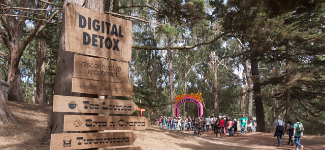Digital detox camp