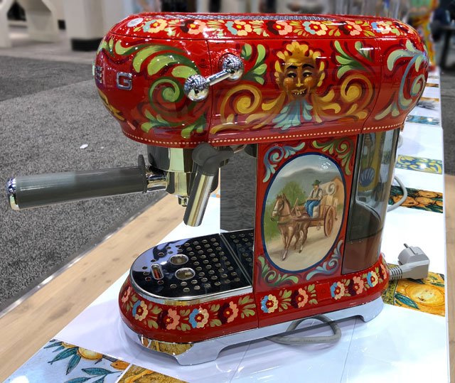 "SMEG Dolce&Gabbana ""Sicily is My Love"" appliance collection"