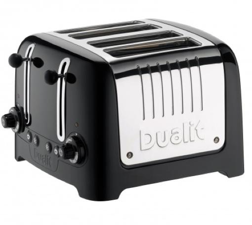 Dualit 4 Slot Lite Toaster (black)