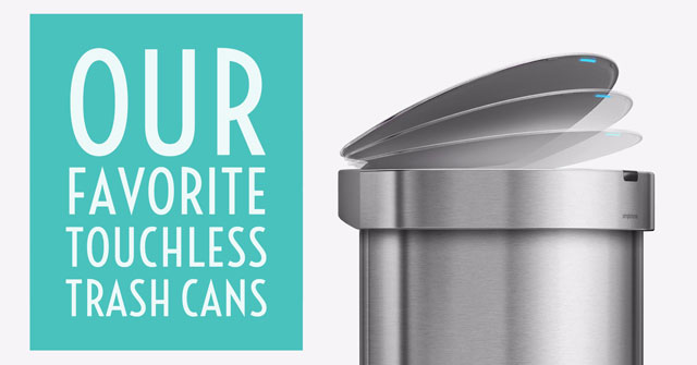 Our Favorite Touchless Trash Cans