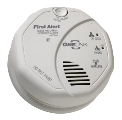 First Alert ONELink smoke and carbon monoxide alarm