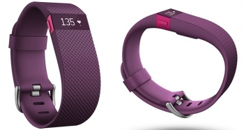 Fitbit Charge HR (plum)