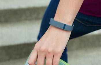 Fitbit Flex worn on a wrist
