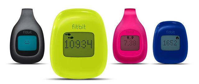Fitbit Zip in neon green