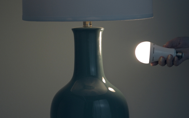 GE LED+ Battery Backup bulb