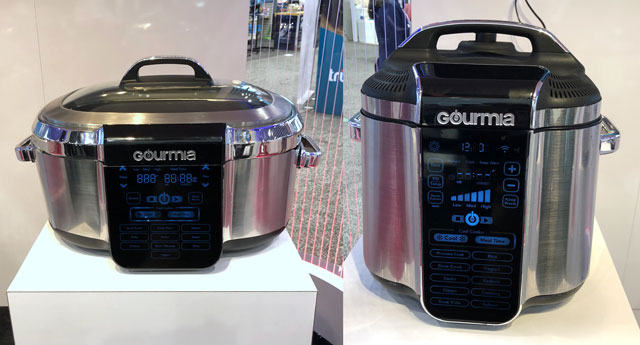 Gourmia Smart Chill MultiCooker and Smart Chill Pressure Cooker
