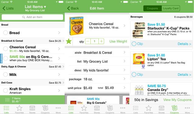Best for List Organization: GroceryIQ
