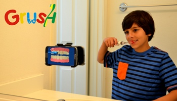 Grush gaming toothbrush