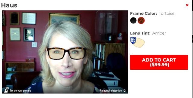 gunnar glasses online try on