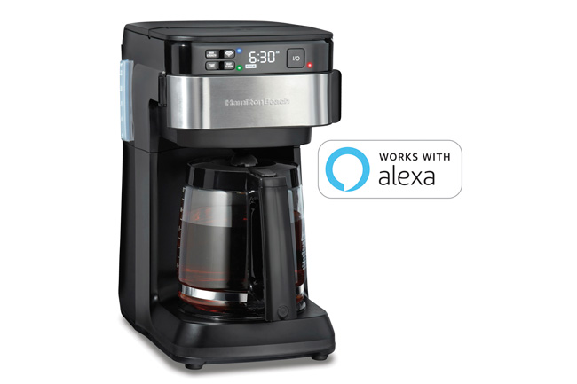 Hamilton Beach 49700 coffee maker with Alexa