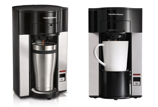 Hamilton Beach single-serve coffee maker