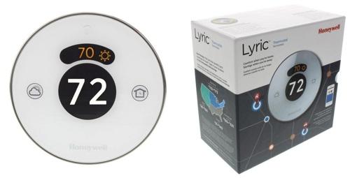 Honeywell Lyric smart thermostat with box