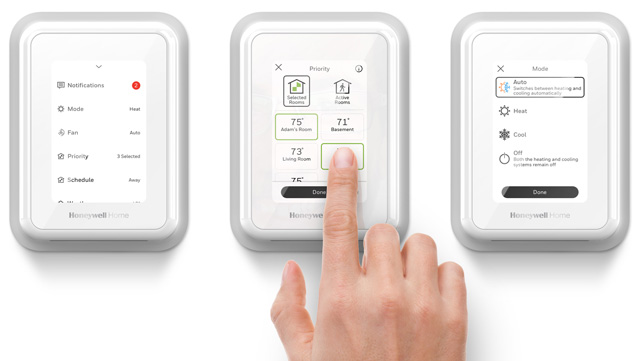 Residio Honeywell Home T-Series Smart Thermostats