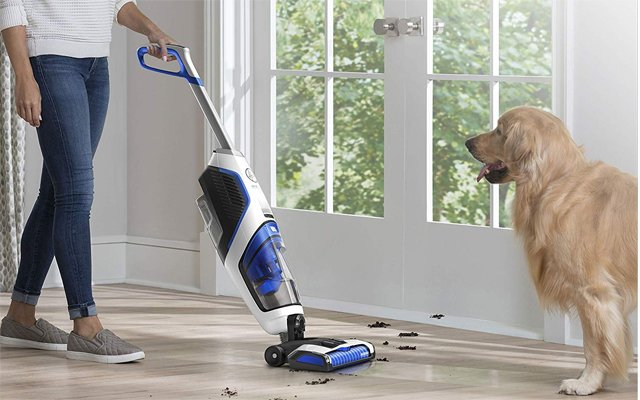 For delicate surfaces: Hoover ONEPWR FloorMate Vacuum
