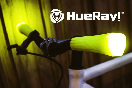 HueRay bicycle grips