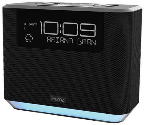 iHome iAVS16 Bedside Clock Speaker System
