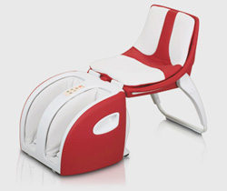 Inada CUBE Massage Chair open
