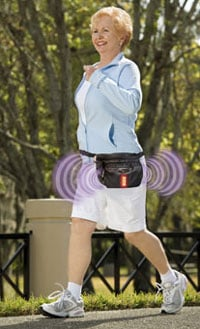 iSafe fanny pack