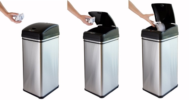 iTouchless Deodorizer Automatic Sensor Trash Can