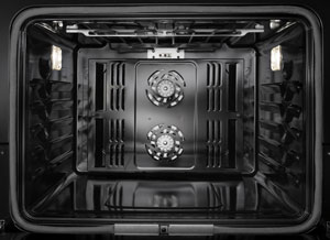 Jenn-Air oven interior