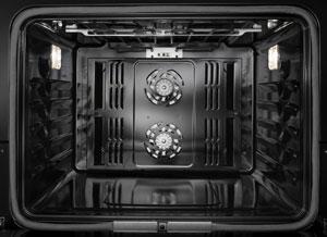 Jenn-Air oven interior