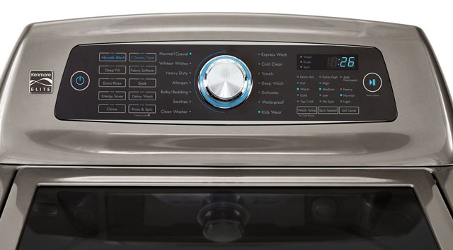 Washing machine with allergy cycle: Kenmore Elite 31553