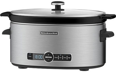 KitchenAid 6-Quart Slow Cooker with Standard Lid
